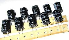 10 pcs - 10V 10,000uf - Radial Electrolytic Capacitors - 18mm x 25mm SMG VB Caps