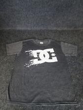 Hombre Auténtico DC Moda Informal skate bmx MX Camiseta S M L Xl Xxl Gris DC 75