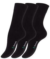 3 o 6 paia di calze da uomo 97/% COTONE BIO KBA biosocken Organic Cotton