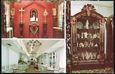 FORT LAUDERDALE FL Creighton's Restaurant Chinese Jade Wedding Bed Cabinet Vtg