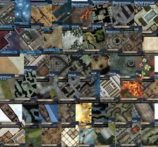 Pathfinder Dungeons&Dragons Starfinder D&D RPG Flip-Mat Dry-Erase Wet-Erase MAPS