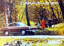 Renault Caravelle 1100 Showroom Coche Clásico Cartel impresiones de fotos A1