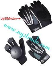 Gloves Long boarding Skateboard Sliding with Light Reflector Quality Slide Puck