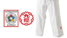 Kusakura Japan Joex Judo gi White Pants Judogi 2017 Ijf Official Approved