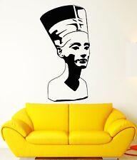 Wall Stickers Nefertiti Egypt Pharaoh Statue Ancient Culture Vinyl Decal ig2357