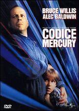 Codice Mercury  - dvd - Bruce Willis (MUI)