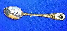 Vintage German Enameled Picutre Souvenir Spoon Wien Stefansplatz #Bk