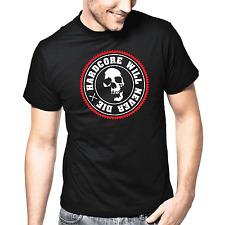 Hardcore will never la | hardstyle | DJ | TESCHIO | Skull | S-XXL T-shirt