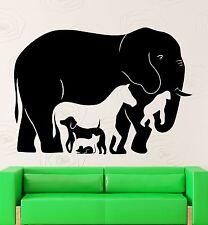 Wall Stickers Animal Elephant Horse Monkey Kids Room Vinyl Decal (ig2499)