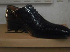 Herren schuhe / Italian shoes, MARIO ALBORINO SOLID /Elegante LEDER schuhe.