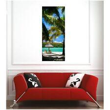 Affiche poster plage palmiers  4686418