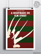 NIGHTMARE ON ELM STREET Minimalist Movie Poster Minimal Print Posteritty Krueger