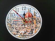 OROLOGIO DA PARETE SOUVENIR FIRENZE - WALL CLOCK FLORENCE SOUVENIR