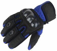 Bangla Motorradhandschuhe Motorrad Handschuh kurz Blau Schwarz XS - XXXL