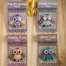 Colorful Sentimental Owl Magnet Bridal Shower Wedding Favors