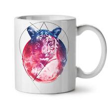 Tiger Moon Beast Animal NEW White Tea Coffee Mug 11 oz   Wellcoda