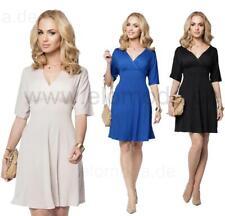 Mini-Kleid Shirt Top V-Ausschnitt Gr. S M L XL XXL 3XL, b009