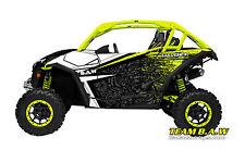 Can Am Maverick MXVEC 001 Manta Green  Decal Graphic Kit Wraps