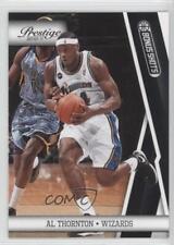 2010-11 Prestige Bonus Shots Black #117 Al Thornton Washington Wizards Card