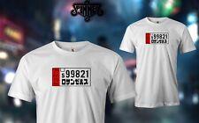 Blade Runner Película Inspirado Camiseta 2049 2017 oficial K 'Spinner matrícula
