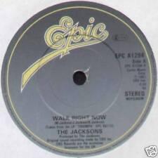 "[MICHAEL JACKSON] JACKSONS ~ WALK RIGHT NOW / YOUR WAYS ~ 1981 UK 7"" SINGLE"