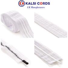 12mm x 2m /& 20mm x 2m Korbond White Soft Elastic Choice of Sizes 6mm x 3m