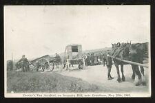 Lincs GRANTHAM Carrier's Van disaster 1907 PPC