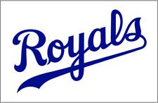 Kansas City Royals MLB Team Logo Decal Stickers Baseball