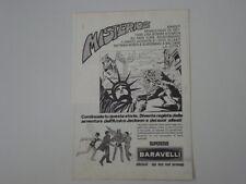 advertising Pubblicità 1974 BARAVELLI SUPEREROI BATMAN AMICO JACKSON SUPERMAN
