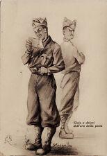 """#R. PAPARELLA: UMORISMO DI VITA MILITARE 1937-38 """"GIOIA E DOLORI.."""""""