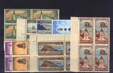 NUOVA Zelanda 1947 assicurazione sulla vita impostato in blocchi l42-49 MNH.