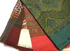 SCIARPA UOMO LANA wool ELEGANTE DIS CASHMERE PAISLEY SCIARPE MADE IN ITALY