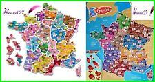 Magnet LE GAULOIS  Départements Français Série 3 + Nouvelle couleur région 2017