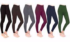 Women's and Girl's All Season Free Size Soft Leggings inside Fleece for Ladies