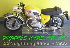 MOTO CLASSIQUE 1/24 BSA LIGHTNING 650cc 1965   MOTORRAD MOTORCYCLE