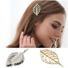 Clip de cabello pelo paréntesis perchero pelo joyas hoja pelo pelo aguja pin