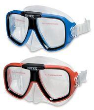 Intex Tauchermaske Reef Rider ab 8 Jahre Sicherheitsglas Tauchen Schwimmen