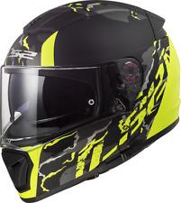 LS2 FF390 Breaker Doble Visera Sintético Casco Integral Motocicleta Accidente