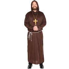Costume habit de moine déguisement robe religieux halloween carnaval homme