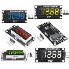 "0.36"" 4-Digit LED TM1637 Tube Display Clock  Red/Green/Blue/Yellow/White Module"