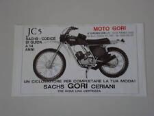 advertising Pubblicità 1975 MOTO GORI 50 JC5