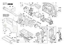 BOSCH GST 160 BCE Stichsäge original Bosch Ersatzteile