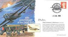 MF6 WWII WW2 Dambuster Raid RAF cover signed 617 CO MONKMAN US DFC