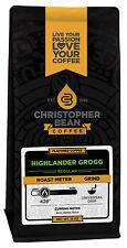 Christopher Bean Coffee HIGHLANDER GROGG Flavored Coffee 1-12-Ounce Bag