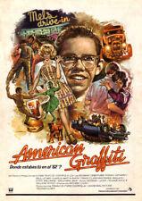 American Graffiti Ron Howard movie poster print