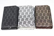 CELEBRITY Designer Damen Geldbörse gemustert - 3fach WUK-001