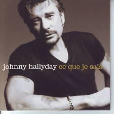 CD JOHNNY HALLYDAY ce que je sais * nos limites