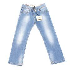 9251G jeans bimba azzurro BURBERRY pantaloni trousers kids