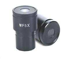 1 Paar Mikroskop Okular WF5X Durchmesser 23.2mm/30mm