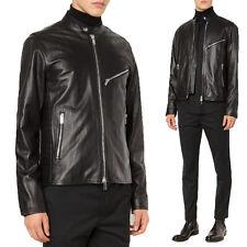 US Men Leather Jacket Hommes veste cuir Herren Lederjacke chaqueta de cuero R74